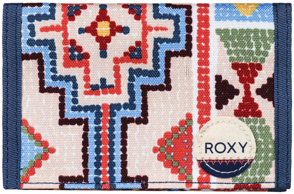 Peňaženka Roxy Beach Glass pale dogwood pasadena blanket